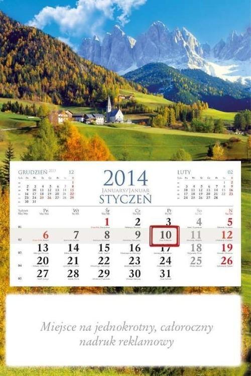 Kalendarz 2014 KM 4 Dolina Kalendarz 2014 KM 4 Dolina