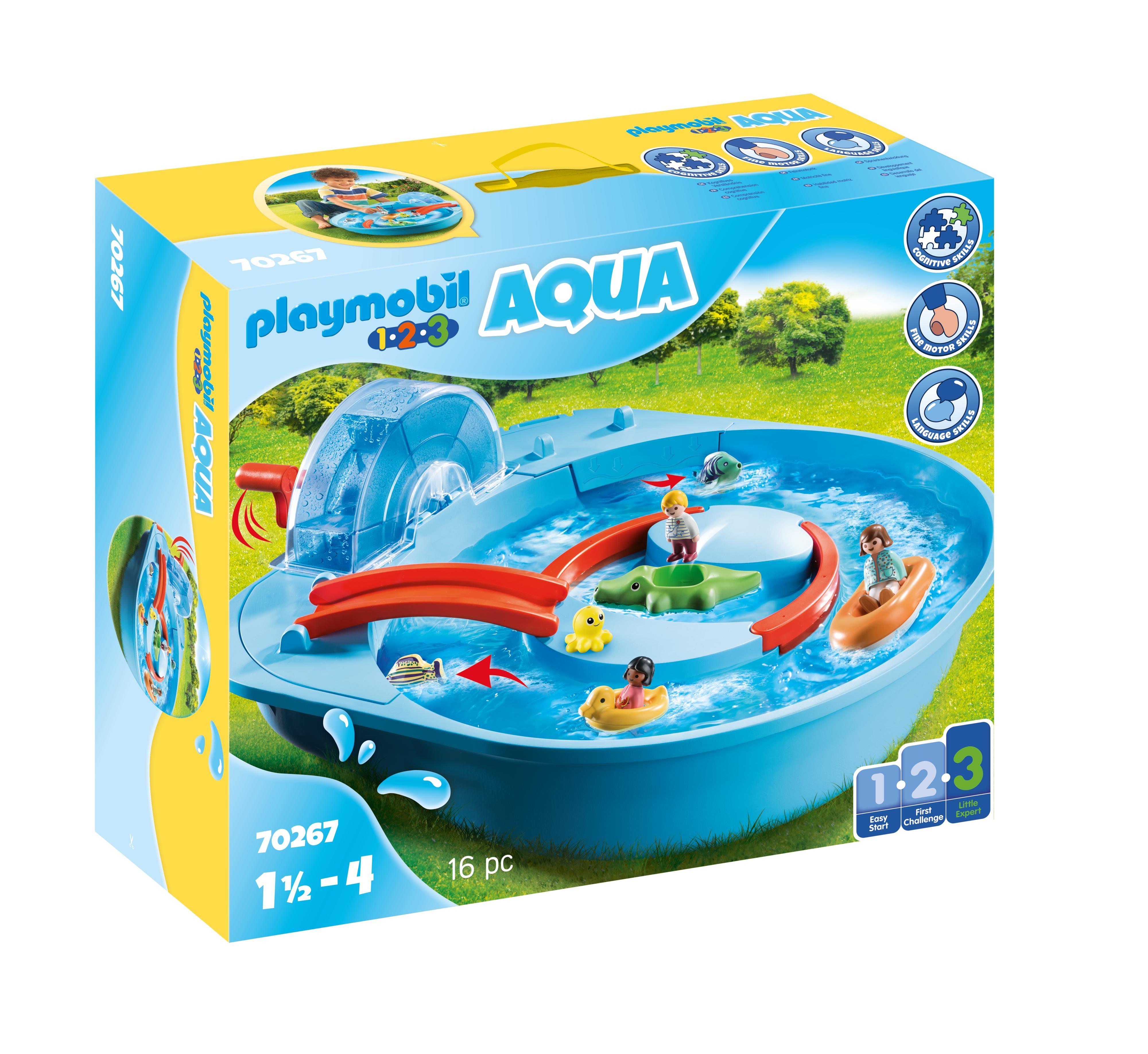 Playmobil 1.2.3 Aqua: Park wodny (70267)