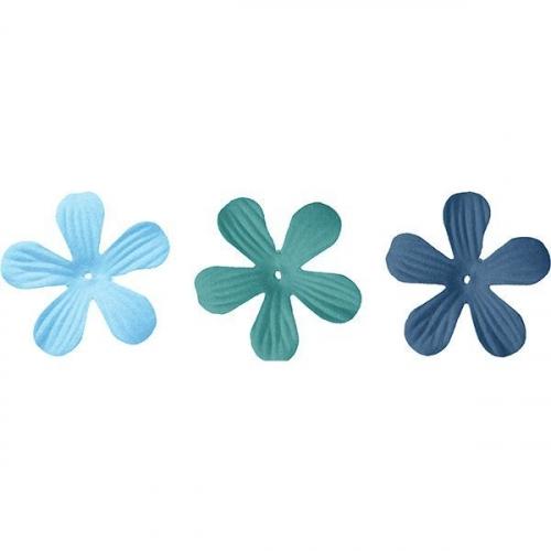 Płatki materiałowe kwiaty 4 cm (Zd-006-2)