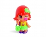 Pinypon City - laleczka Emoji 7cm z akcesoriami. Seria 9 - czerwone włosy