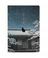 Notes A5/100K Kot siedzący na dachu