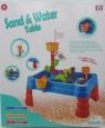 Stanowisko do pracy z piaskiem i wodą. Kolor niebieski