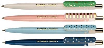 Długopis automatyczny Simple Me 0,5mm nieb. 2szt