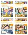 Owocna edukacja Zestaw Logopedia Będę mówić poprawnie Zeszyt 1-4