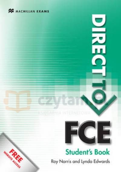 Direct to FCE SB with Key & Webcode Lynda Edward,  Roy Norris