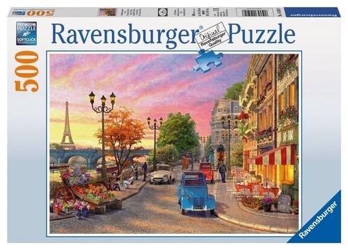 Puzzle Paryż wieczorową porą 500 (RAP145058)