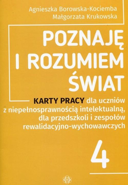 Poznaję i rozumiem świat Borowska-Kociemba Agnieszka, Krukowska Małgorzata