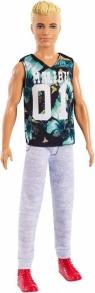 Lalka Barbie Fashionistas Stylowy Ken T-Shirt Malibu (DWK44/FXL63)