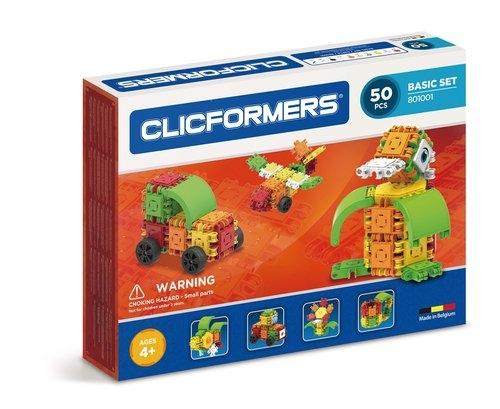 Clicformers - 50 elementów