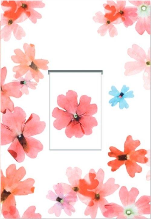 Karnet z zakładką magnetyczną 12x18 cm + koperta Pierwiosnek