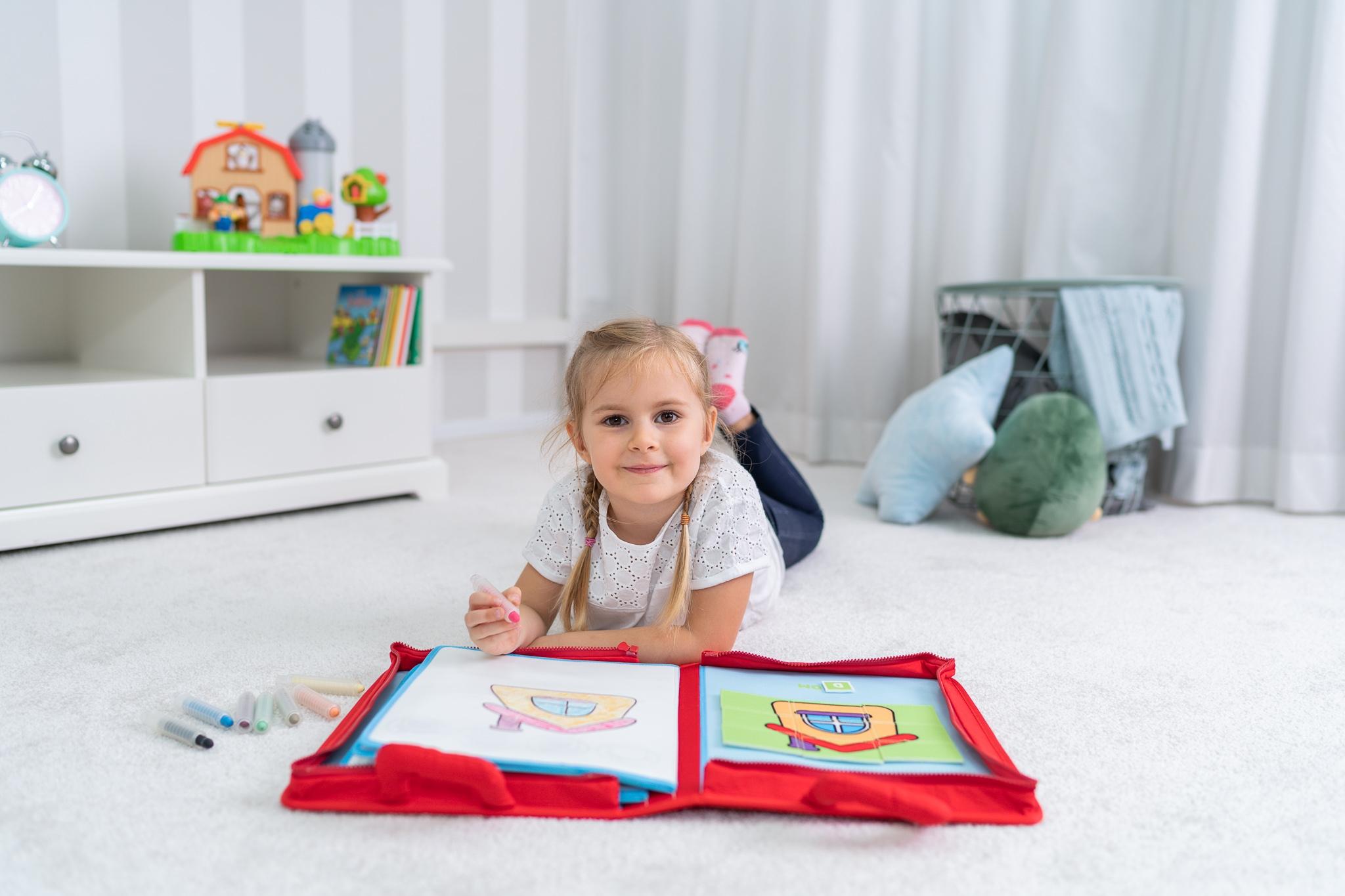 Jollybaby, Pierwsza książka - Mały malarz (80468)
