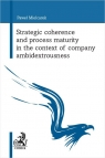 Strategic coherence and process maturity in the context of company Mielcarek Paweł