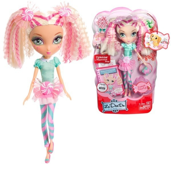 LADEEDA Sweet Party Dots&Lollipop Doll