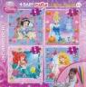 Puzzle Baby 4 Disney Księżniczki + mazaki mix (304-40681)
