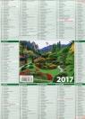 Kalendarz 2017 KL Listkowy