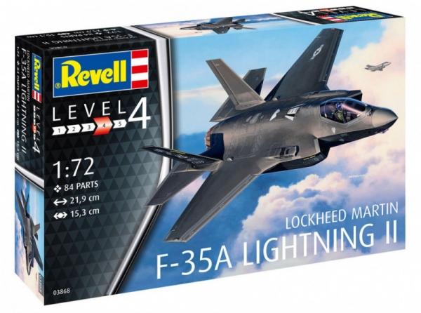 Model do sklejania F-35A Lightning II (03868)