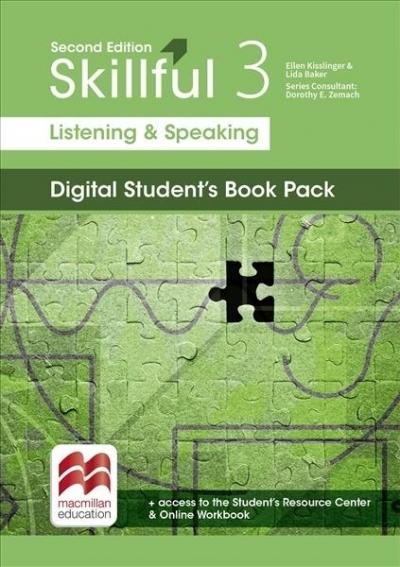 Skillful 2nd ed. 3 Listening & Speaking SB Premium praca zbiorowa