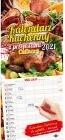 Kalendarz 2021 Kuchenny z przepisami Praca Zbiorowa