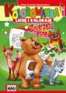 Kolorowanka Liczę i koloruję Zwierzęta leśne