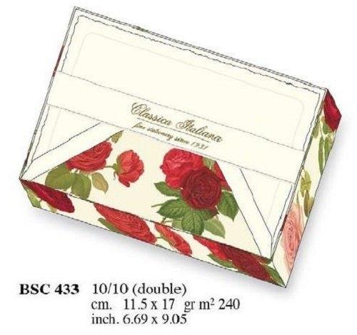 Papeteria box 10 kopert i 10 karnetów