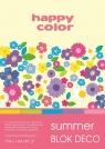 Blok Happy Color Summer Deco, A4, 20 arkuszy (HA 3817 2030-120)