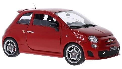 Fiat 500 Abarth 2008 (red)