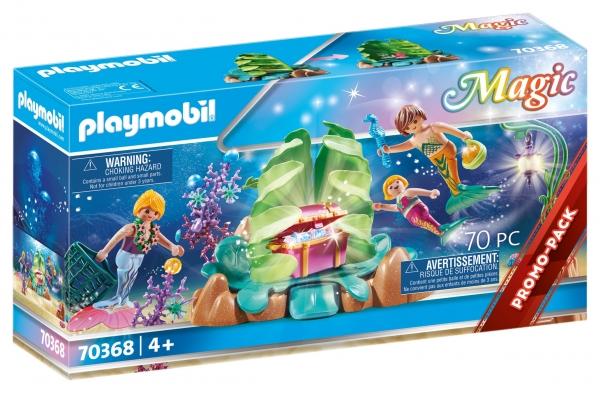 Playmobil Magic: Koralowy salon syrenek (70368)