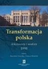 Transformacja polska Dokumenty i analizy 1990