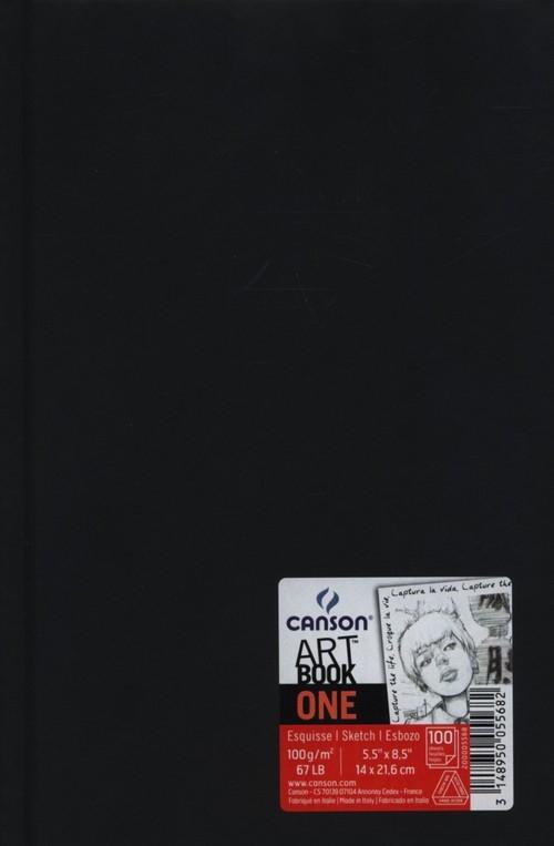 Szkicownik A5 Canson Artbook One gładki 100 kartek