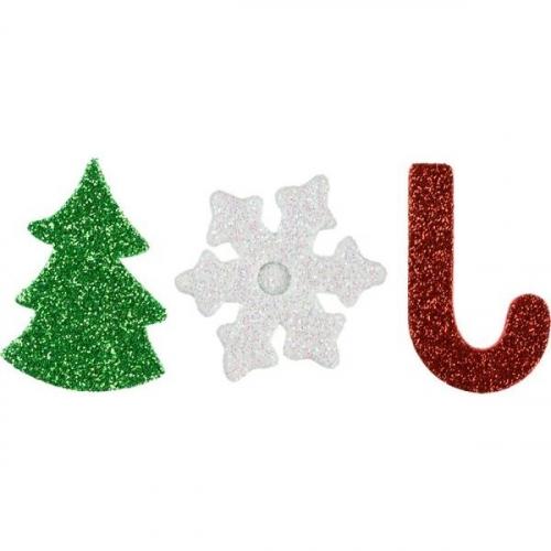 Dekoracje piankowe samoprzylepne, Boże Narodzenie (363181)