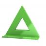 Magnes Mega Magnet Delta XL 75x75mm - zielony Dahle (95552-14821 DA)
