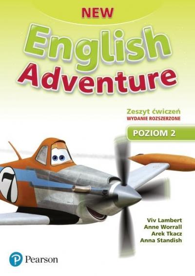 New English Adventure 2. Activity Book. Wydanie rozszerzone Viv Lambert, Anne Worrall, Arek Tkacz, Anna Stand