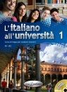 L'italiano all'universita 1 Podręcznik + ćwiczenia + CD audio La Grassa Matteo