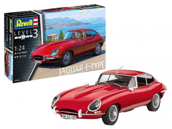 Model do sklejania Jaguar E-Type Coupe (07668)