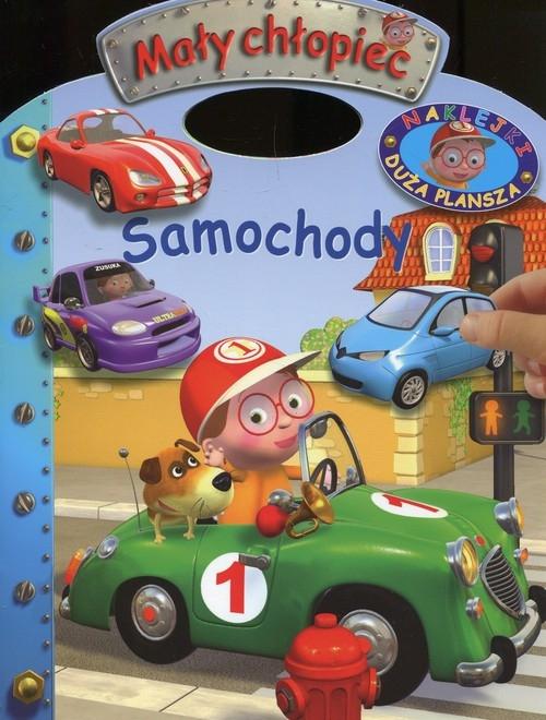 Mały chłopiec Naklejki Duża plansza Samochody Belineau Nathalie, Beaumont Emilie