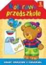 Kolorowe przedszkole 2 lata Zabawy edukacyjne z naklejkami