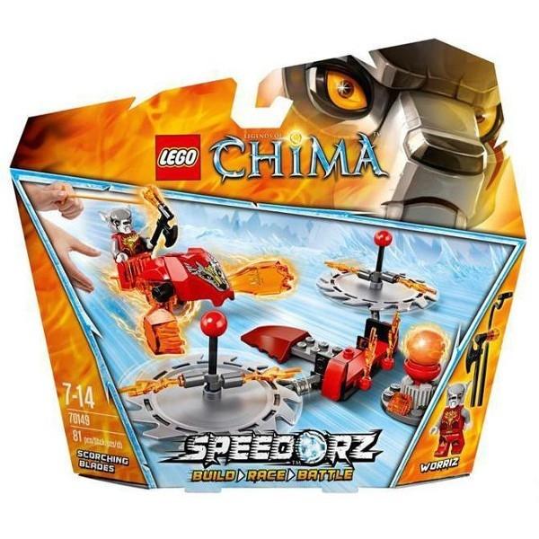 LEGO Chima Zabójcze Tarcze