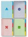 Zeszyt Oxford Top 2000 A5 80 kartek kratkamix wzorów