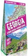 Gruzja (Georgia) laminowana mapa samochodowo - turystyczna 1:400 000