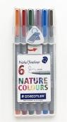 Cienkopis Triplus Fineliner 0,3 mm - 6 kolorów (334-SB6CS2)