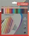 Kredki Aquacolor 24 kolory