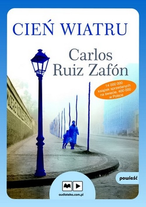 Cień wiatru  (Audiobook) (Audiobook) Zafón Carlos Ruiz