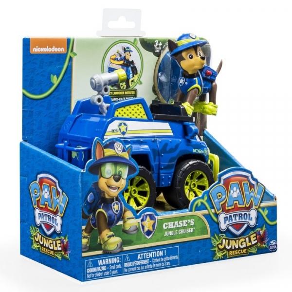 PSI PATROL Pojazd specjalny z figurką Jungle, Chase (6031703/20079026)