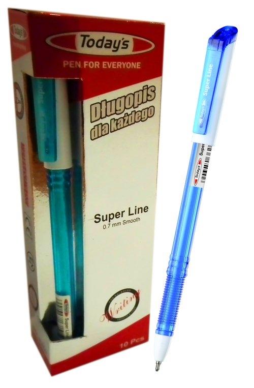 Długopis Today's SUPERLINE 10 sztuk