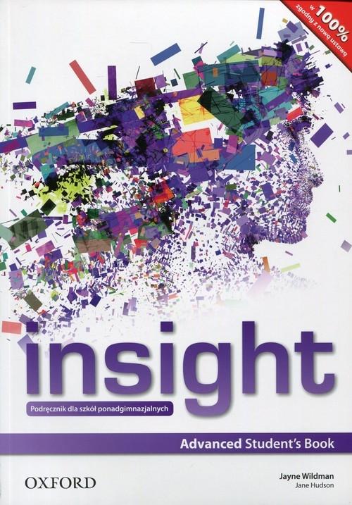 Insight Advanced Student's Book Wildman Jayne