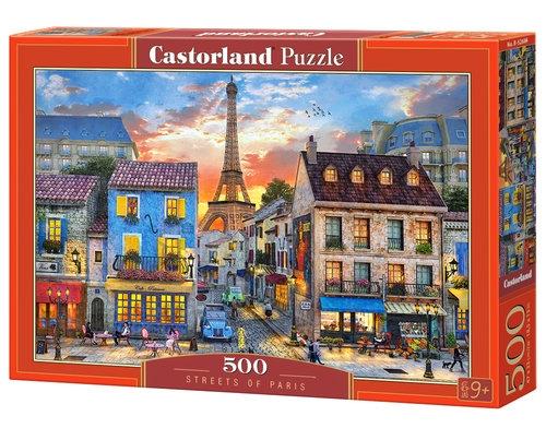 Puzzle Streets of Paris 500 (B-52684) Castor