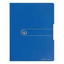 Teczka A4/20 z wkładem Easy Orga niebieska