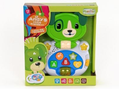 Zabawka edukacyjna Adar piesek plus organki (504684)