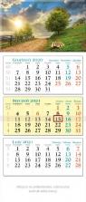 Kalendarz 2021 trójdzielny KT 09 Droga