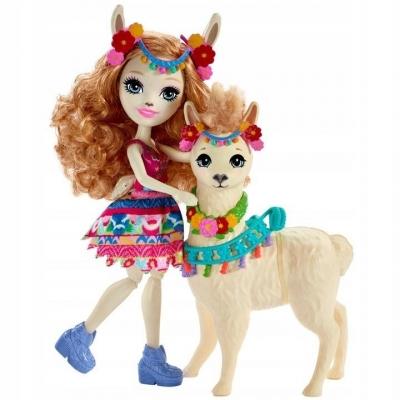 Enchantimals: Lalka + duże zwierzę lama